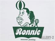 SoccerJunky RONNIE Tシャツ(詳細画像)