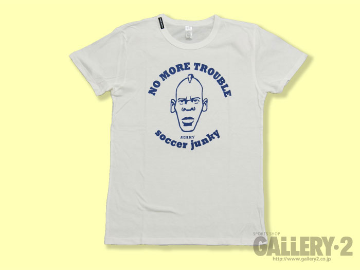 SoccerJunky NO MORE TOROUBLE Tシャツ
