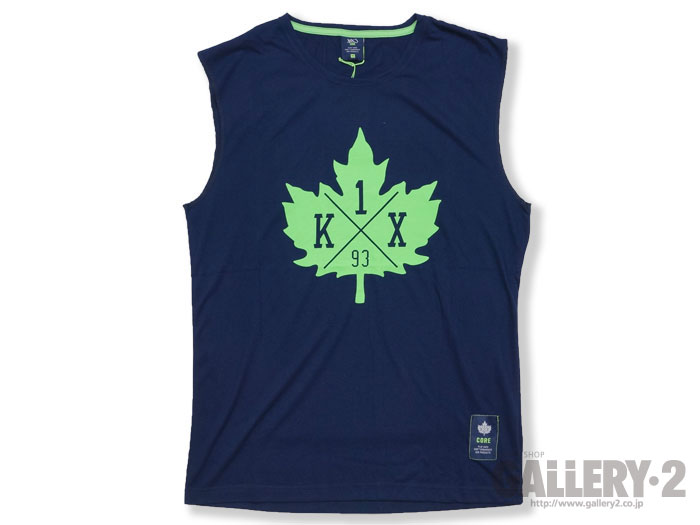 K1X core leaf sleeveless tee