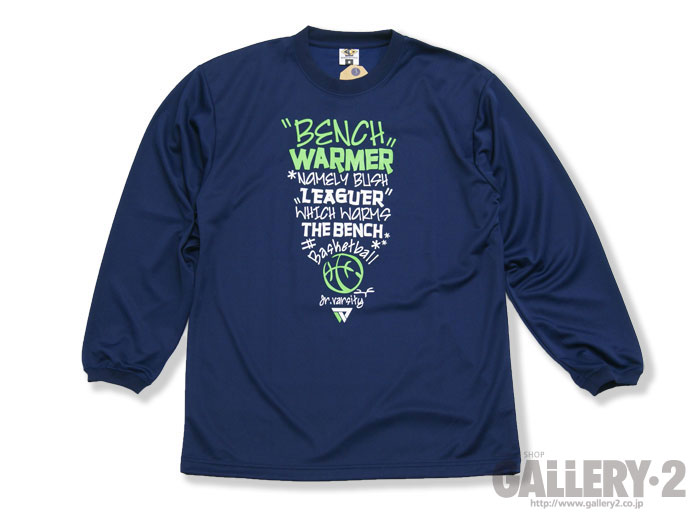 BENCHWARMER Jr VARSITY LONG SLEEVE SHIRTS