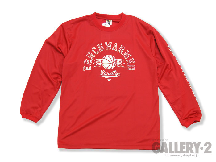 BENCHWARMER VARSITY LONG SLEEVE SHIRTS
