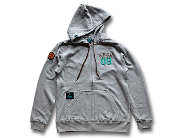 Arch athletic sweat parka