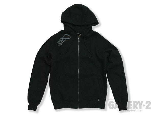 plain tag zipper hoody