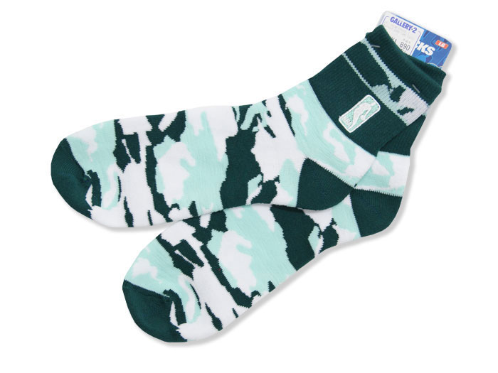 FOR BARE FEET SNAPBACK BAND CAMO SOCKS