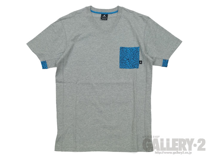 JORDAN FLY ELEPHANT POCKET TEE