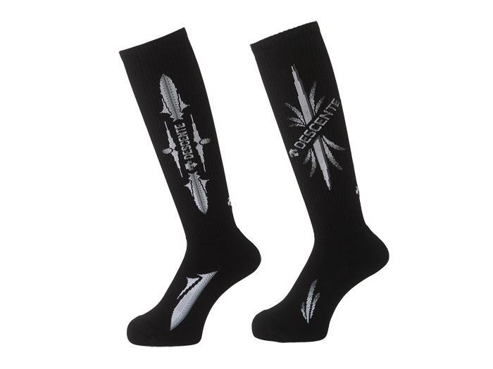 DESCENTE 2P HIGH SOCKS