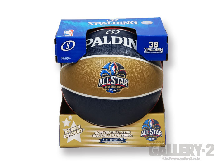 SPALDING 2014NBA ALL-STAR OFFICIAL BALL