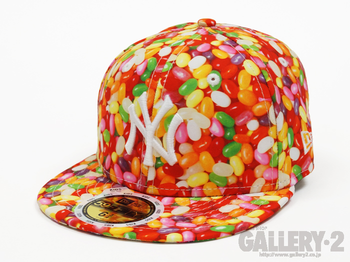 NEW ERA KID'S 59FIFTY Jelly Beans ニューヨーク・ヤンキース