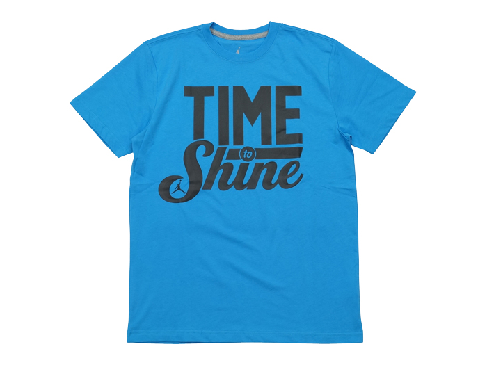 JORDAN TIME TO SHINE TEE