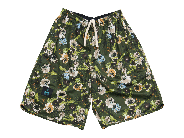 Arch flower rev shorts