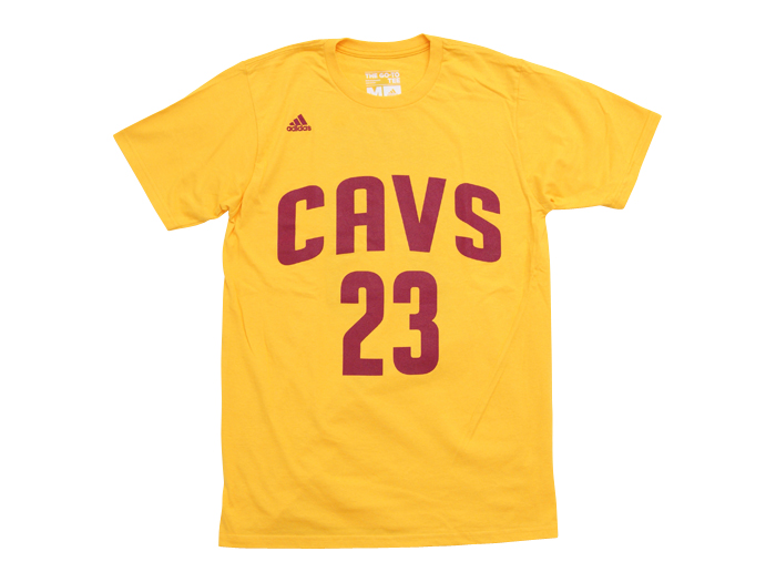 adidas LEBRON Cavs Name Number Tee
