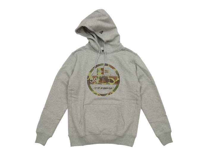 NEW ERA SWEAT PULLOVER HOODIE HC VS GRY