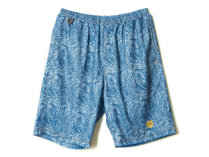 AKTR MOCK DENIM SHORTS