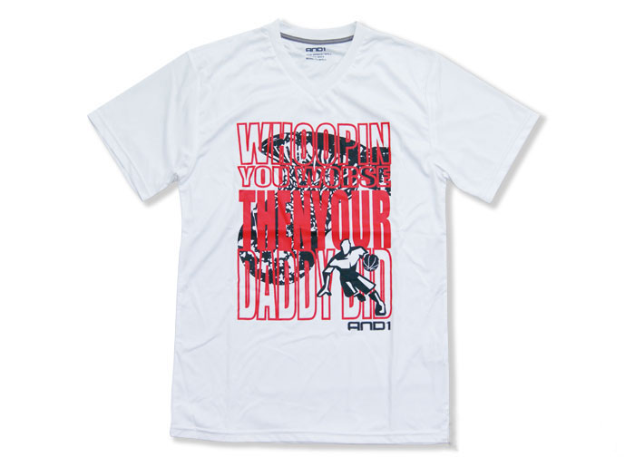 AND1 TRASH GRAFF PERF TEE