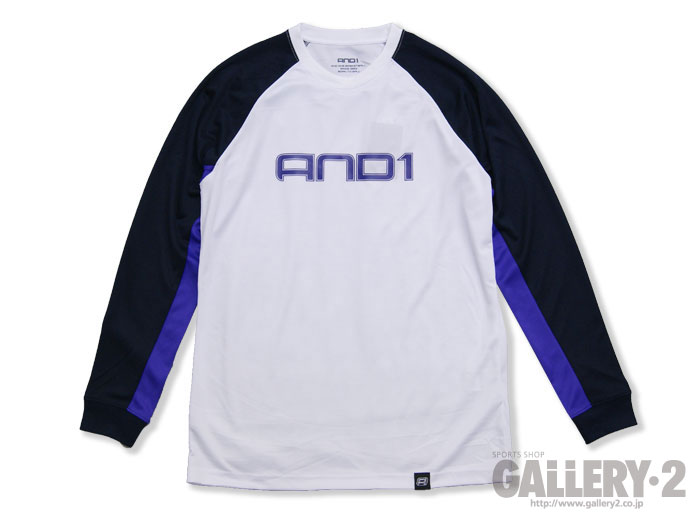 AND1 REIGN L/S TEE