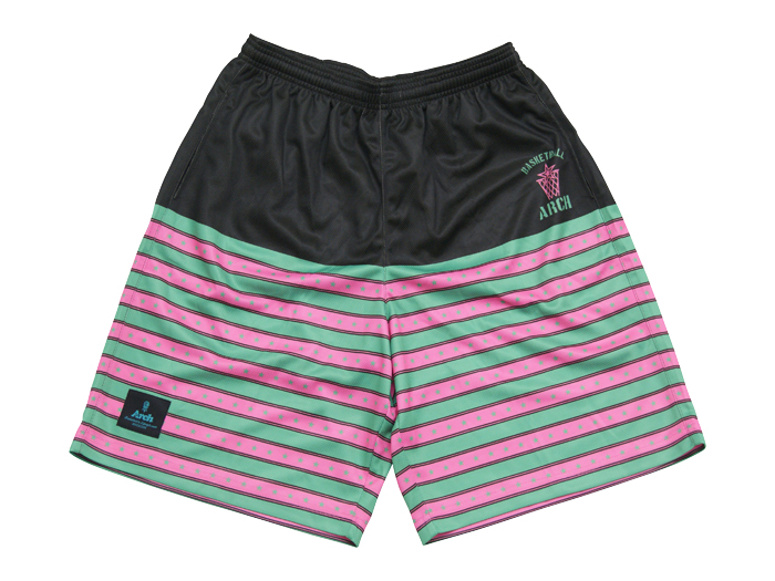 Arch Arch stripe and star shorts