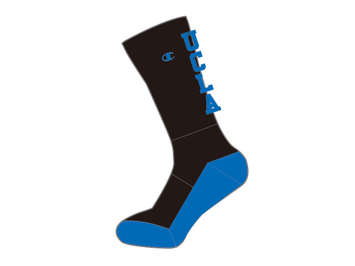 Champion UCLA MIDDLE SOCKS