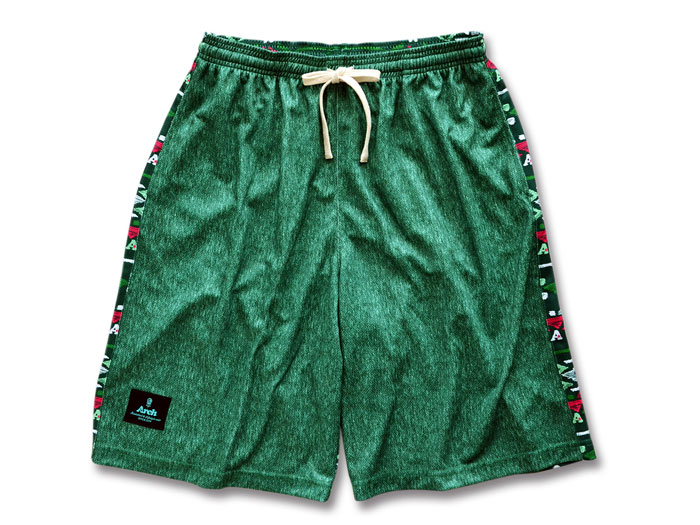 Arch Arch ikat designed shorts