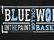 In The Paint BLUE TEE(詳細画像)