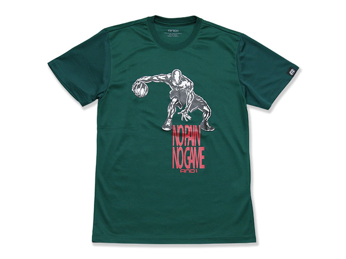 AND1 NO PAIN NO GAME TEE