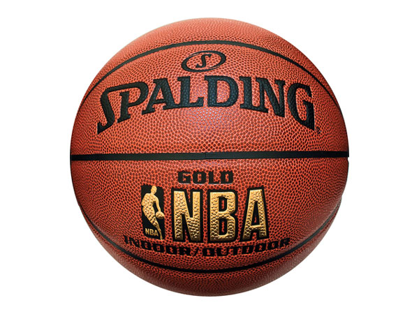 SPALDING NBA GOLD 5号
