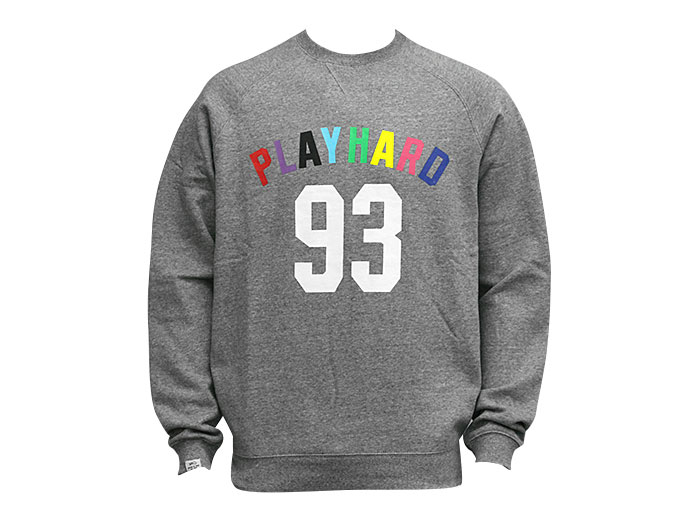 K1X play hard 93 crewneck
