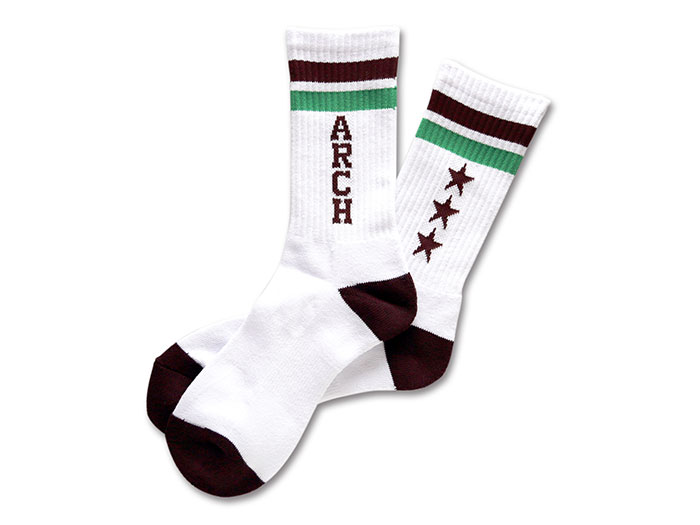 Arch Arch triple star mid. Socks
