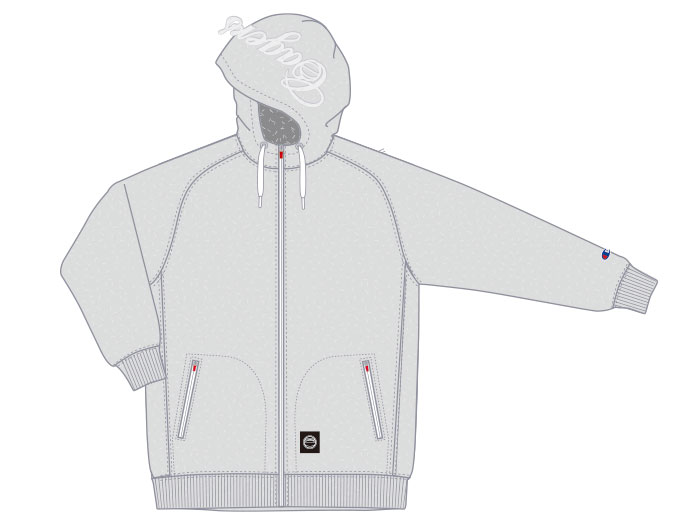 Champion WRAPAIR FZIP PARKA