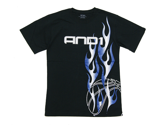 AND1 ON FIRE TEE