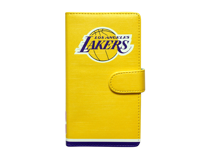 NBA iPhone6手帳型カバー LAKERS