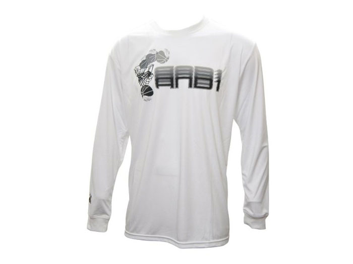 AND1 OVERLAP LOGO LS TEE