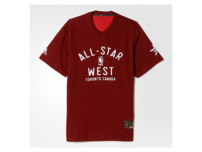 adidas NBA ALL STAR STAR シューター Tシャツ