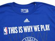 adidas THIS IS WHY WE PLAY TEE【76ERS】(詳細画像)