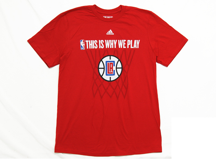 adidas THIS IS WHY WE PLAY TEE【CLIPPERS】
