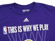 adidas THIS IS WHY WE PLAY TEE【LAKERS】(詳細画像)