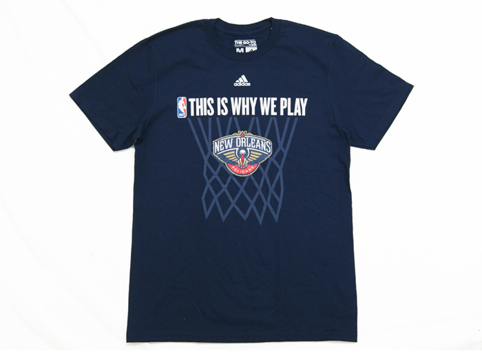 adidas THIS IS WHY WE PLAY TEE【PELICANS】