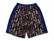Arch light effect jagged shorts(詳細画像)