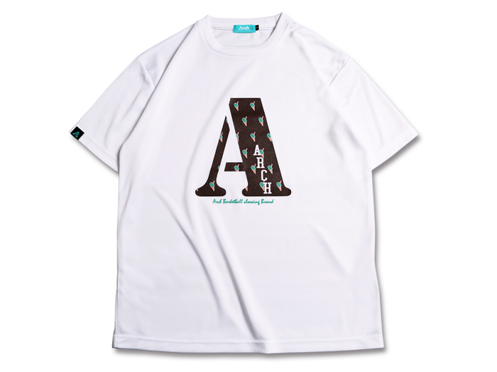 Arch chocomint A tee[DRY]