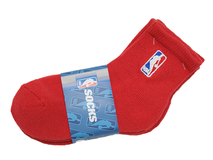 FOR BARE FEET FBF NBA LOGO SOCKS 2PK