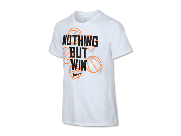 NIKE ナイキ YTH DRI-FIT コットン NOTHING BUT WIN S/S Tシャツ