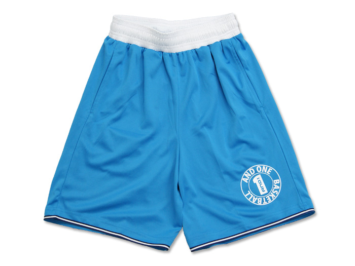 AND1 CIRCLE LOGO STRIPE SHORT