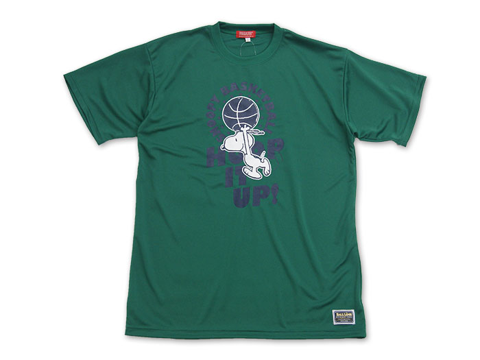 ON THE COURT PEANUTS プリントTシャツ