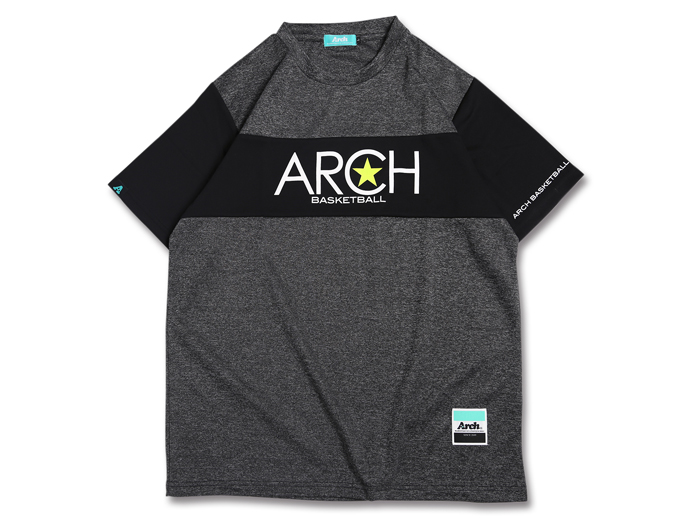 Arch Arch heather block tee[DRY]