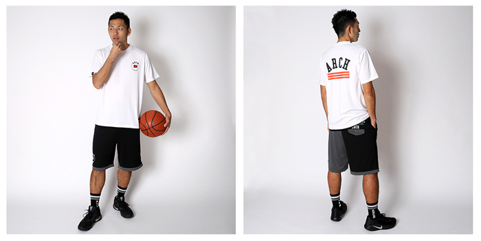 Arch Arch one quarter shorts(ワンポイント画像)