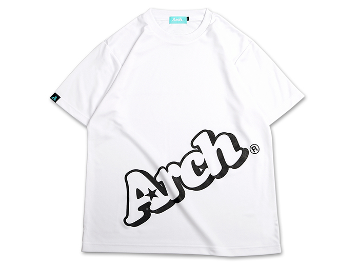 Arch Arch sloping logo tee[DRY]