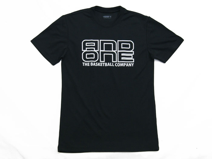 AND1 TOO STAGE LOGO TEE