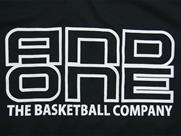 AND1 TOO STAGE LOGO TEE(詳細画像)