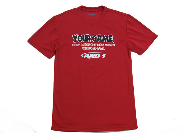 AND1 YOUR GAME TALK TEE