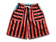 Arch block striped shorts
