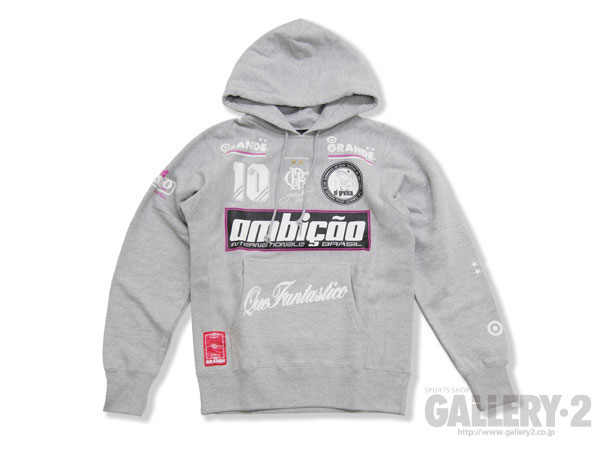 GRANDE AMBICAO SWEAT PULL PARKA